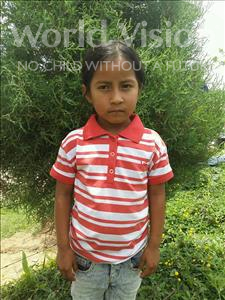 Choose a child to sponsor, like this little girl from Maya, Fany Vanessa age 7