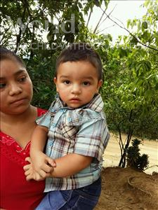 Choose a child to sponsor, like this little boy from Maya, Jose Encarnacion age 2