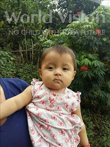 Choose a child to sponsor, like this little girl from Maya, Gissela Brillith age 1