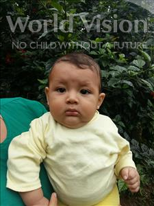 Choose a child to sponsor, like this little boy from Maya, Cristian David age