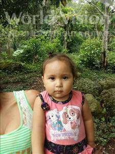 Choose a child to sponsor, like this little girl from Maya, Leyda Dariely age 1