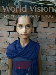 Choose a child to sponsor, like this little girl from Bhojpur, Puja age 12