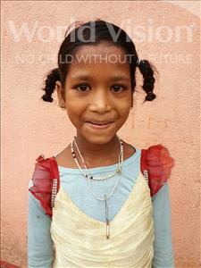 Choose a child to sponsor, like this little girl from Bhojpur, Khusi age 10