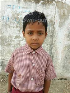 Choose a child to sponsor, like this little boy from Bhojpur, Raja age 9