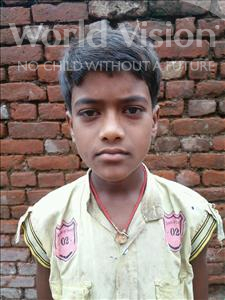 Choose a child to sponsor, like this little boy from Bhojpur, Ashish age 10