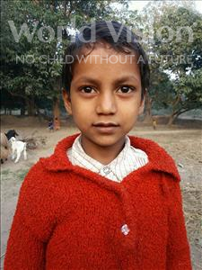 Aakash, aged 8, from India, is hoping for a World Vision sponsor
