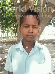 Anshu, aged 8, from India, is hoping for a World Vision sponsor