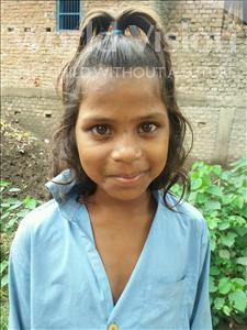Choose a child to sponsor, like this little girl from Bhojpur, Hirawati age 9