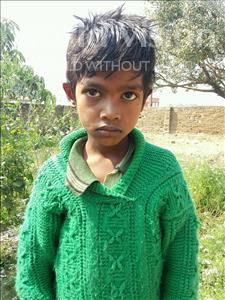 Choose a child to sponsor, like this little boy from Bhojpur, Sagar age 9
