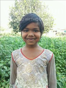 Choose a child to sponsor, like this little girl from Bhojpur, Priyanshu age 6