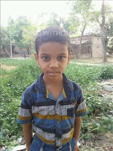 Choose a child to sponsor, like this little boy from Bhojpur, Harshit age 8