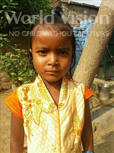 Choose a child to sponsor, like this little girl from Bhojpur, Sobha age 7