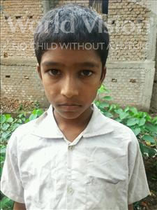 Anup, aged 9, from India, is hoping for a World Vision sponsor