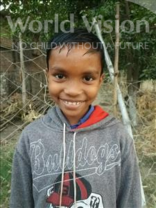 Choose a child to sponsor, like this little boy from Bhojpur, Bhim age 9