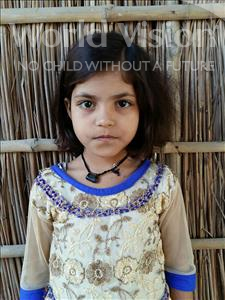 Choose a child to sponsor, like this little girl from Bhojpur, Shabnam age 8