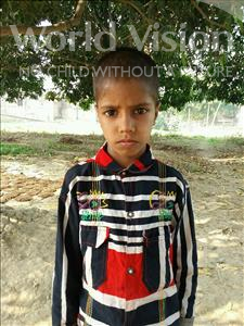 Golu, aged 8, from India, is hoping for a World Vision sponsor