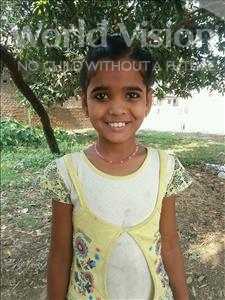 Choose a child to sponsor, like this little girl from Bhojpur, Neha age 9