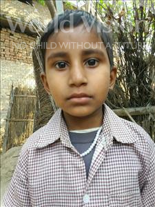 Choose a child to sponsor, like this little girl from Bhojpur, Archana age 6