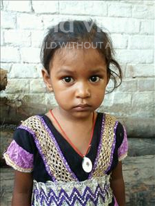 Choose a child to sponsor, like this little girl from Bhojpur, Dhanbati age 3