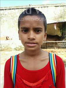 Choose a child to sponsor, like this little girl from Bhojpur, Varsha age 8