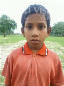 Choose a child to sponsor, like this little boy from Bhojpur, Lalbihari age 7