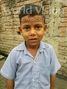 Choose a child to sponsor, like this little boy from Bhojpur, Kaushal age 5