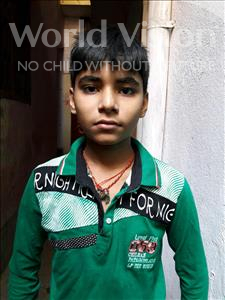 Choose a child to sponsor, like this little boy from Patna, Govinda age 13