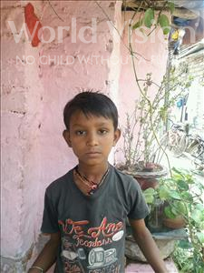 Choose a child to sponsor, like this little boy from Patna, Rahul age 9