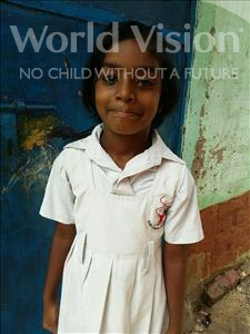 Choose a child to sponsor, like this little girl from Patna, Bhavna age 9