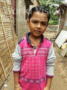 Choose a child to sponsor, like this little boy from Patna, Radhe age 8