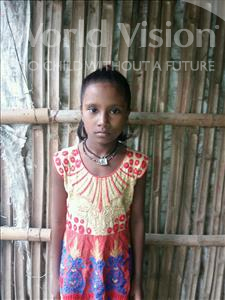 Choose a child to sponsor, like this little girl from Patna, SALMA age 10