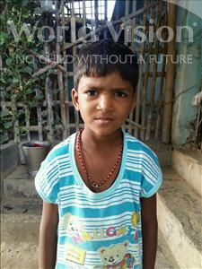 Choose a child to sponsor, like this little boy from Patna, Durga age 7
