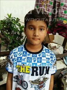 Choose a child to sponsor, like this little boy from Patna, Raj Shekhar age 9