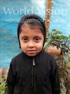 Shivam, aged 7, from India, is hoping for a World Vision sponsor