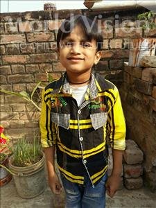 Choose a child to sponsor, like this little boy from Patna, Aditya age 7