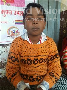 Choose a child to sponsor, like this little boy from Patna, Amit age 10