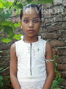 Choose a child to sponsor, like this little girl from Patna, Saloni age 10