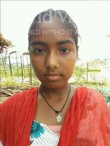 Choose a child to sponsor, like this little girl from Patna, Priti age 9