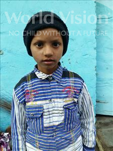 Choose a child to sponsor, like this little boy from Patna, Rishav age 8