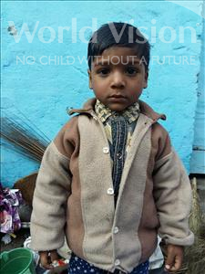 Choose a child to sponsor, like this little boy from Patna, Anshuman age 3