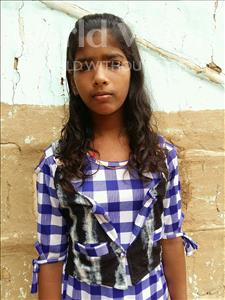 Choose a child to sponsor, like this little girl from Patna, Komal age 11