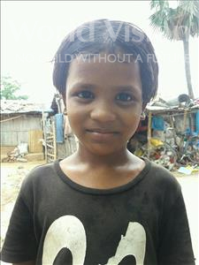 Babita, aged 7, from India, is hoping for a World Vision sponsor