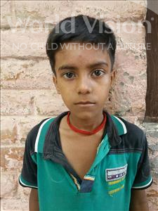 Choose a child to sponsor, like this little boy from Patna, Mukesh age 9