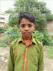 Choose a child to sponsor, like this little boy from Patna, Karan age 7