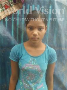Choose a child to sponsor, like this little girl from Patna, Roshni age 12
