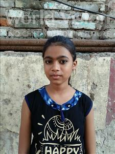 Choose a child to sponsor, like this little girl from Patna, Sakshi age 11