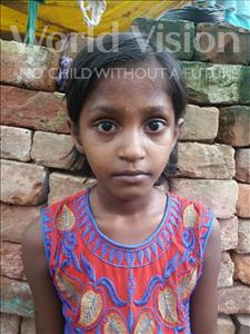 Choose a child to sponsor, like this little girl from Patna, Sangita age 9