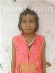Choose a child to sponsor, like this little girl from Patna, Moni age 10