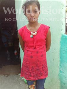 Choose a child to sponsor, like this little girl from Patna, Shabana age 10