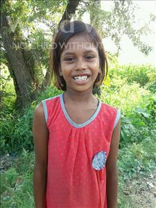Choose a child to sponsor, like this little girl from Vaishali, Sapna age 10